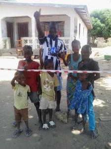 ALEGRÍA - Alie Kamara tras recibir la gran noticia