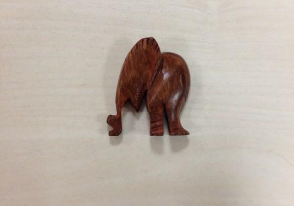 Elefante en madaera